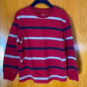 GapKids Red, Blue & Grey Striped Sweater - XS(4/5)